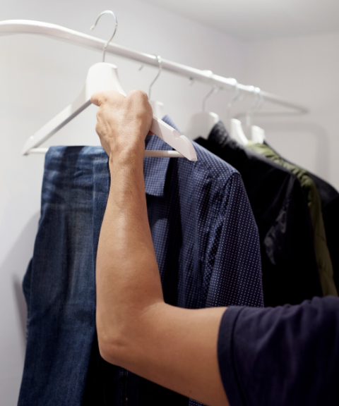 How to Properly Hang Clothes  (and What You've Been Doing Wrong)