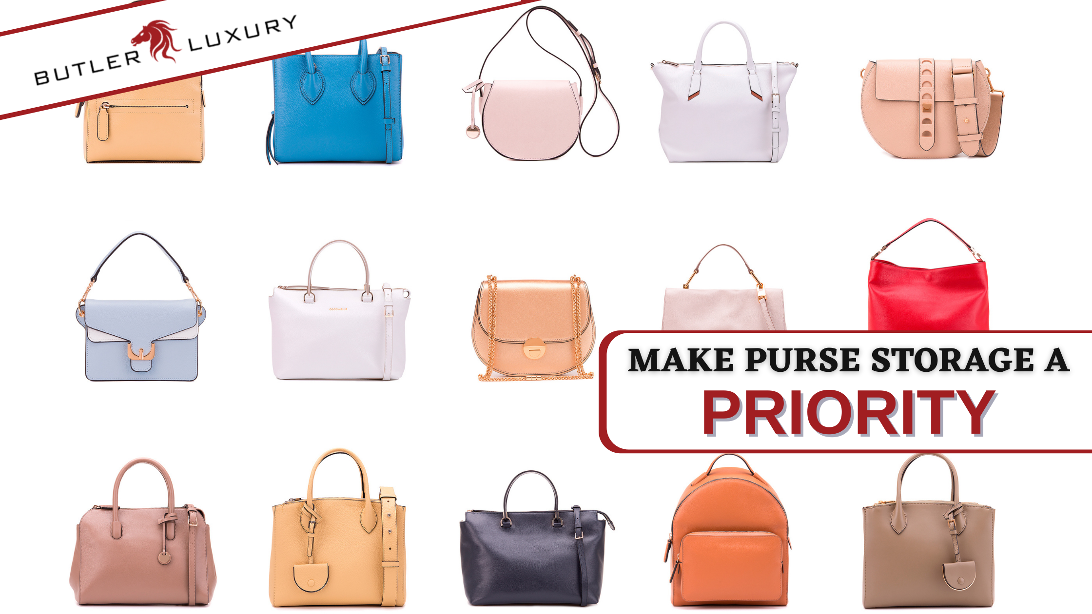 These 5 Strategies Make Purse Storage & Protection a Priority
