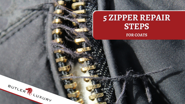 5 Zipper Repair Steps for Coats