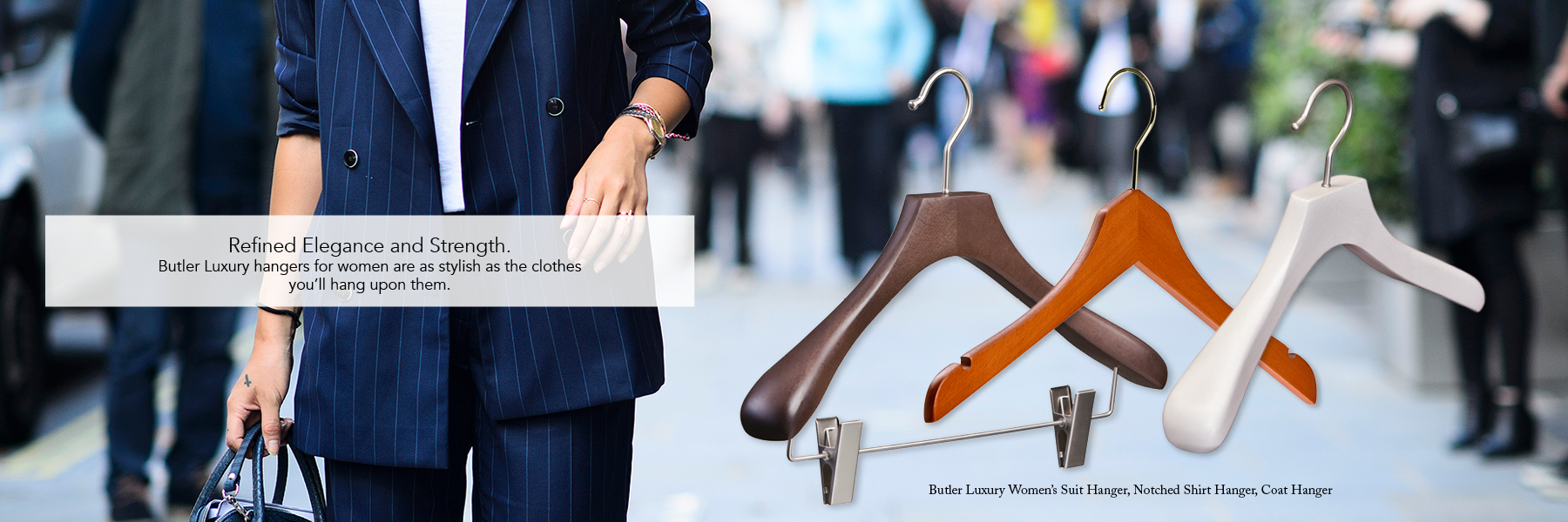 Butler Luxury Hangers for Women