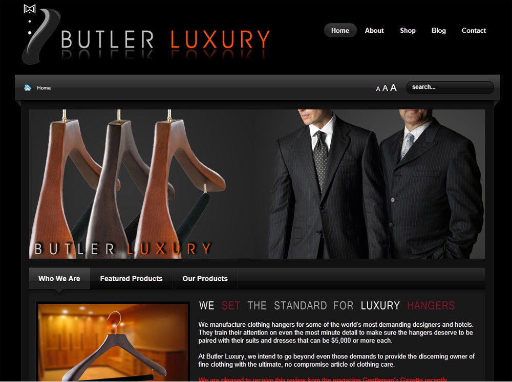 Essential Style For Men reviews Butler Luxury Hangers