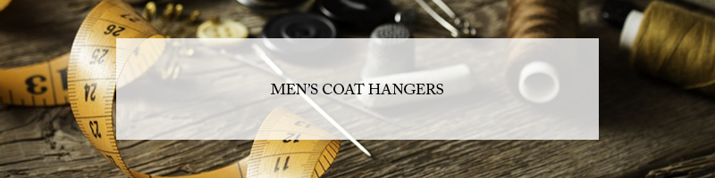 Butler Luxury Men's Wood Coat Hangers