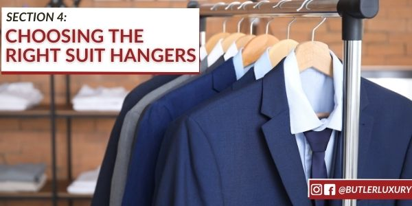 Choosing the right suit hanger