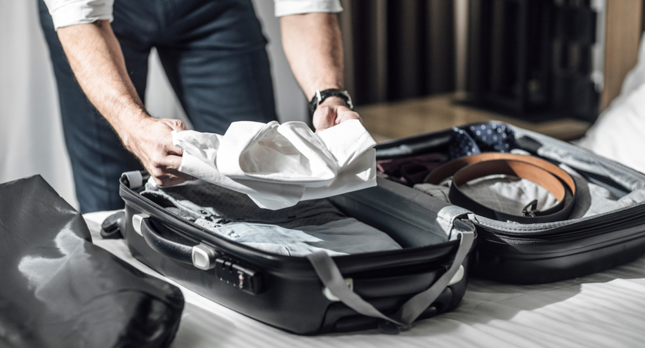 suit packing tips