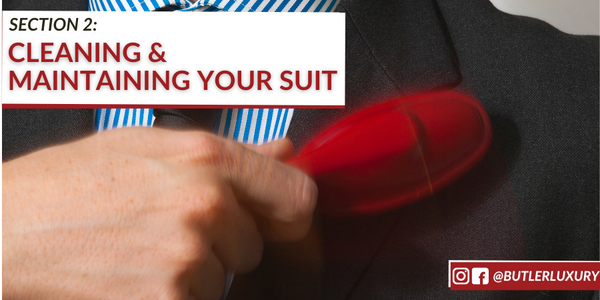 cleaning and maintaining your suit