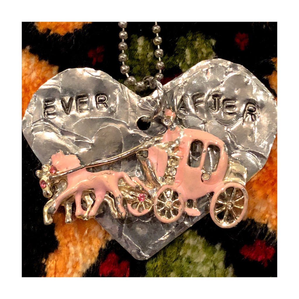 """Ever After"" Cinderella's Coach- My Funny Valentine Limited Necklace"