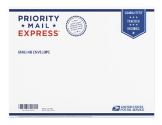 Upgrade to Express Priority Mail Shipping 1 lb (1-2 Day delivery through USPS)