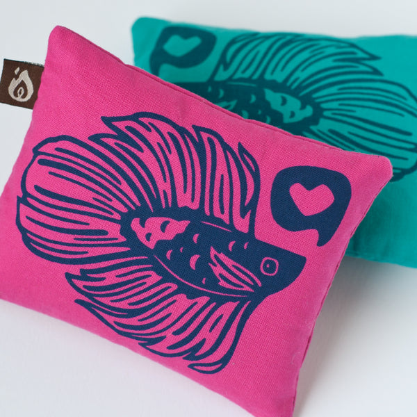 Betta Fish Mini Pillows