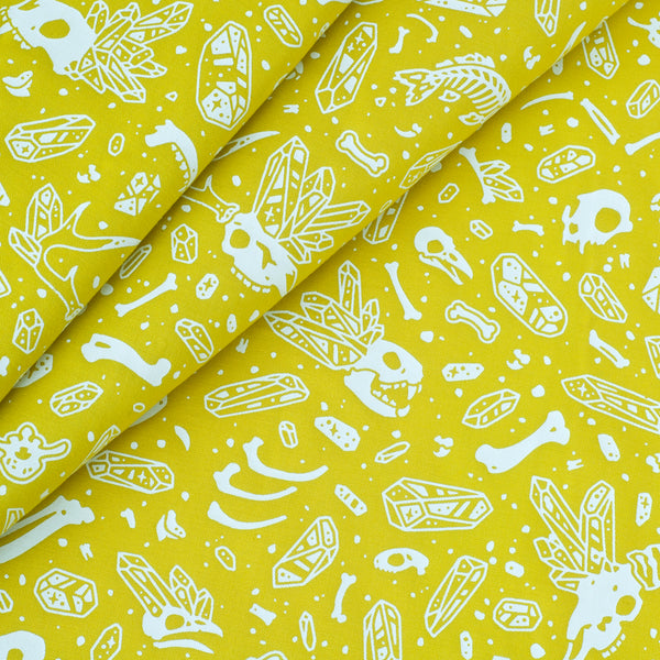 Bones & Crystals Fabric