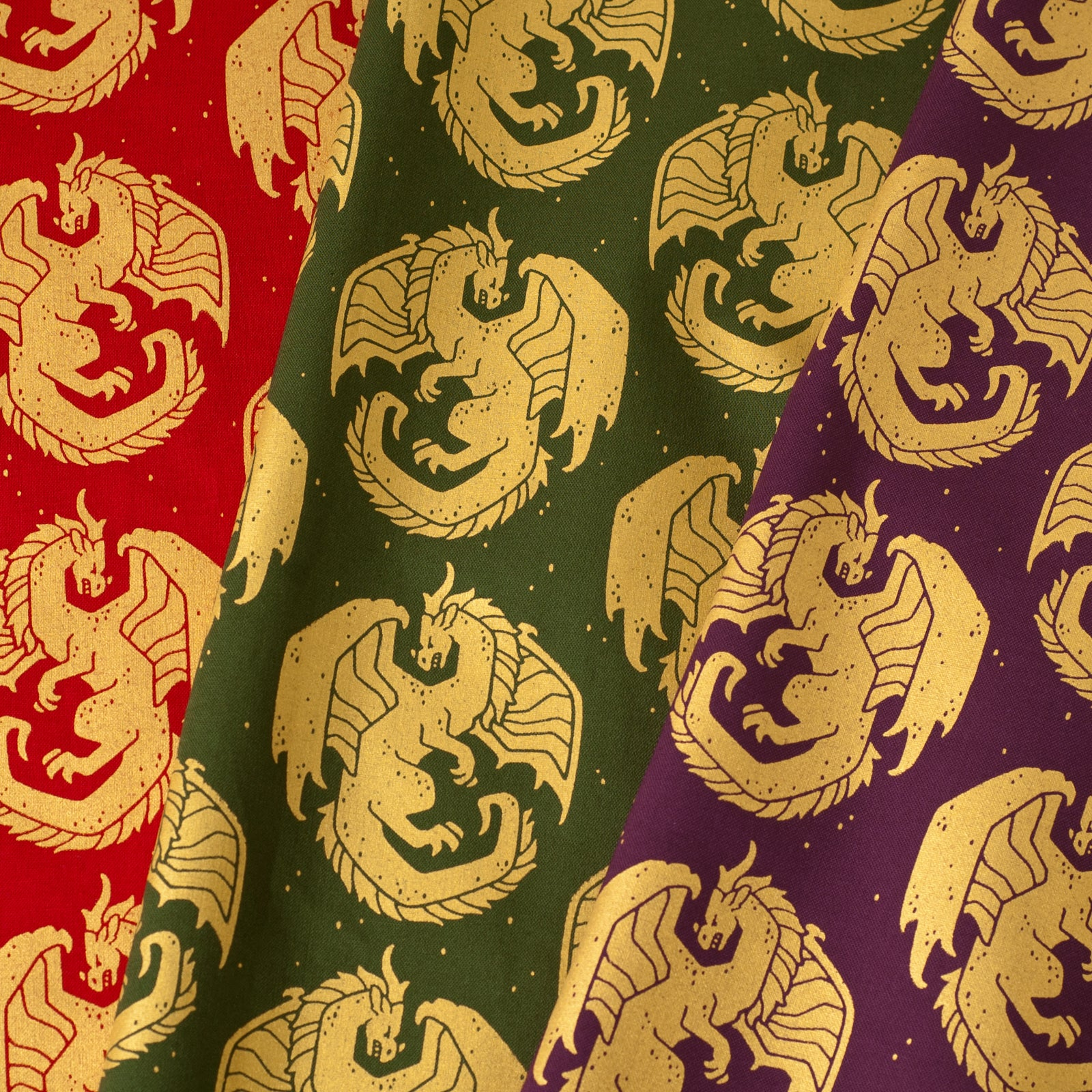 Carved Dragon Fabric