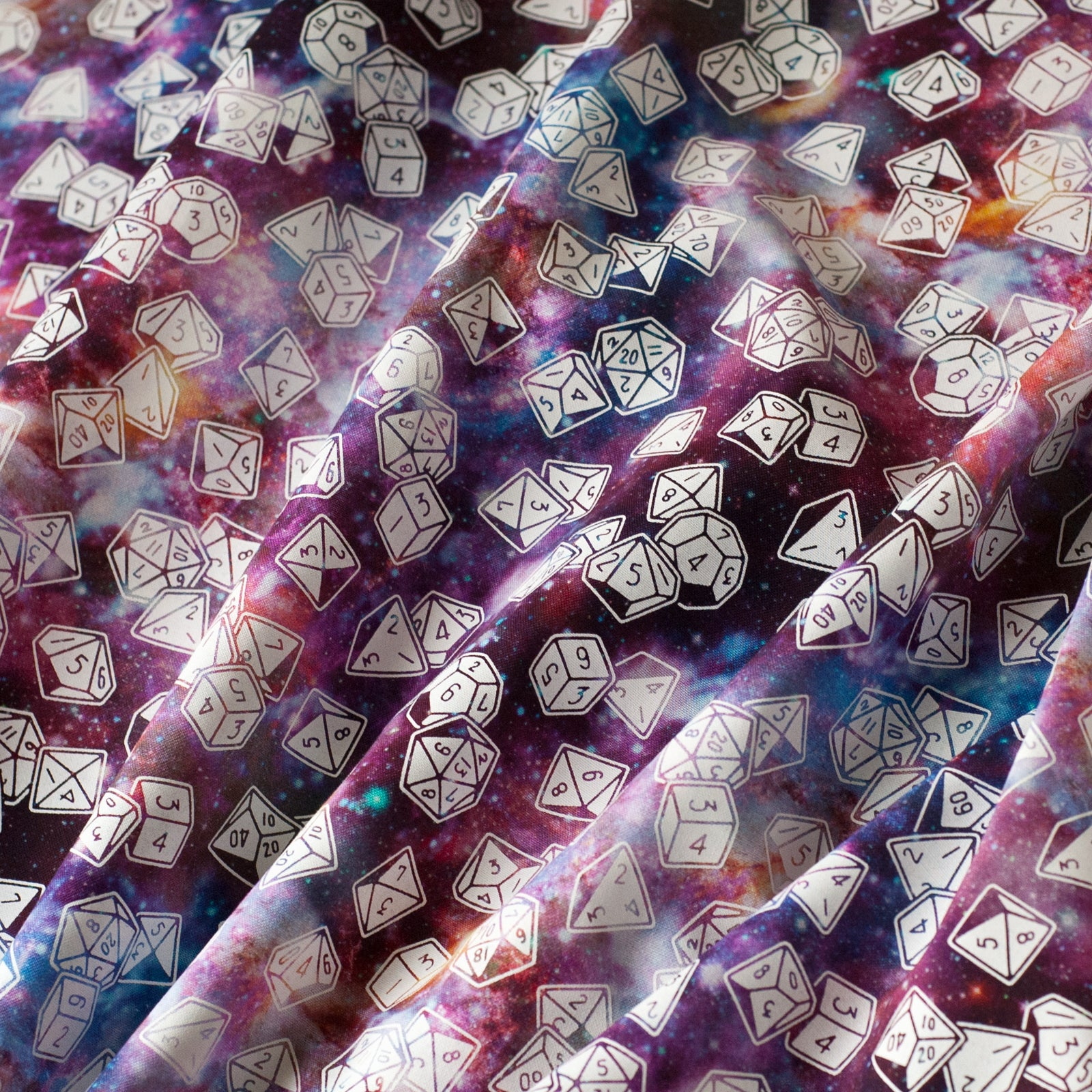 RPG Tabletop Dice Fabric - Galaxy