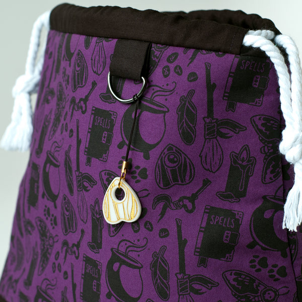 Purple Witch Project Bag