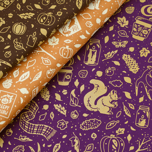 Pumpkin Spice Fabric