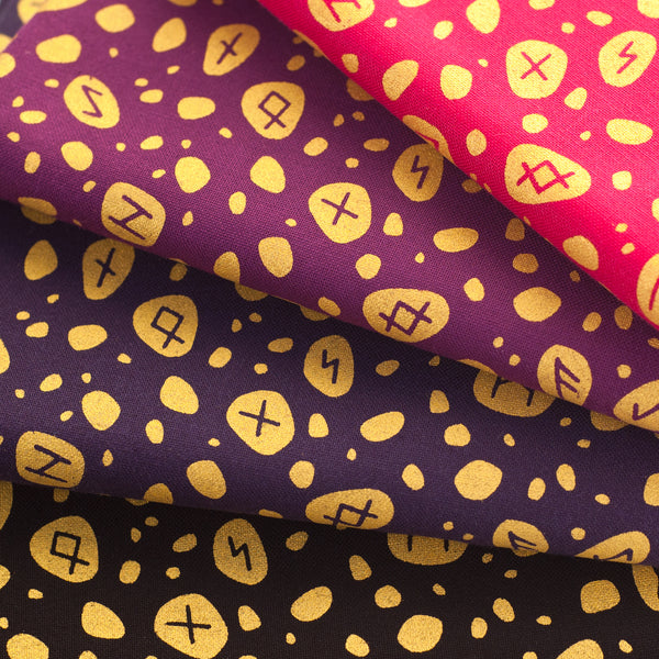 Scattered Rune Stones Fabric