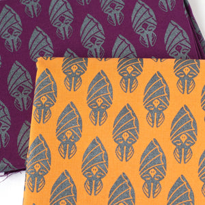 Sleepy Bats Fabric