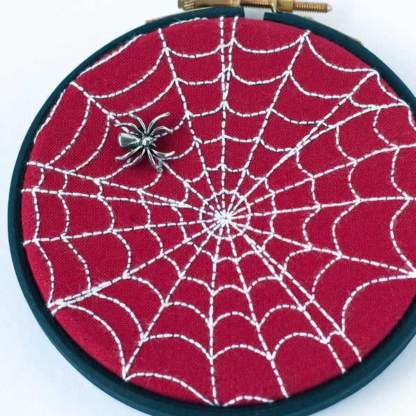 Full Stitched Spider Web