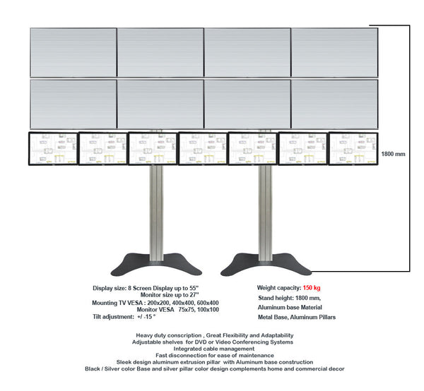 Modular TV & Monitor Display stands 4  - 1