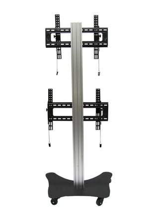 Modular TV Cart Dual Vertical Modal RKF2V  - 2