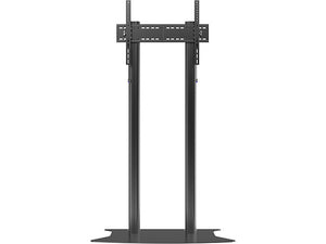 Dual Pillar Black BIG TV trolley RK07  - 2