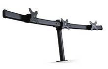 Triple Monitor Stand - Clamp Type (3MS-CT)  - 3