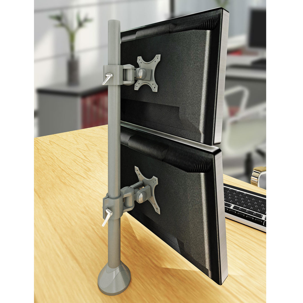 Dual Monitor Stand - Fix Type & Vertical (2MS-FTV)  - 1