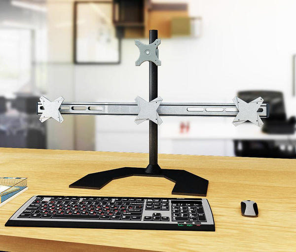 Four Monitor Stand - Freestanding & Horizontal (4MS-FH)  - 2