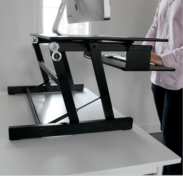 Touch Standing Desk Converter  (with Gas spring) RT  - 31