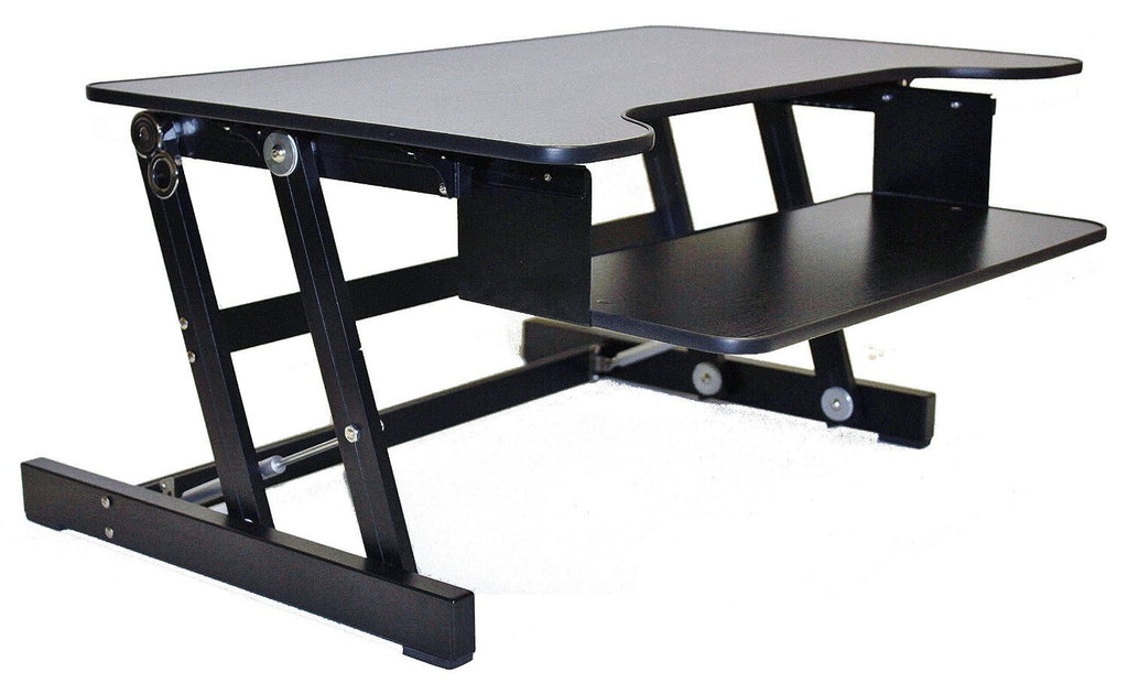 Touch Standing Desk Converter with Gas spring RT Rife Technologies