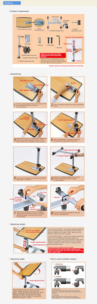 Laptop Table LPT01  - 5