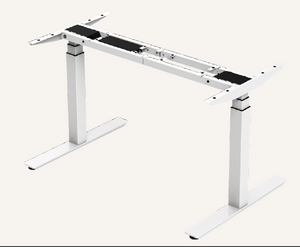 Dual Motor Electric Sit to Stand Workstation, Height Adjustable, Easy Assembly, (DM8)