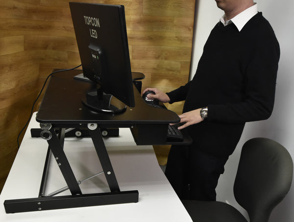Touch Standing Desk Converter  (with Gas spring) RT  - 23