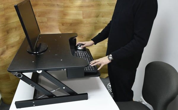 Touch Standing Desk Converter  (with Gas spring) RT  - 26