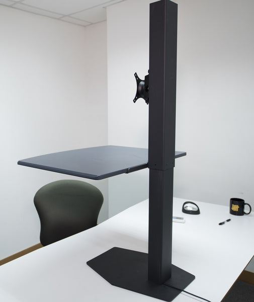 Electric Desktop Sit Stand Converter RE  - 4