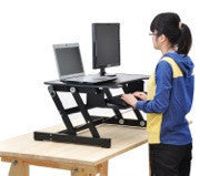 Touch Standing Desk Converter  (with Gas spring) RT  - 8