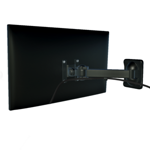 Full Motion Articulating Monitor Wall Mount, Wall Bracket with VESA 75*75 or 100*100mm Compatible, Holds up to 10 Kgs (R177)
