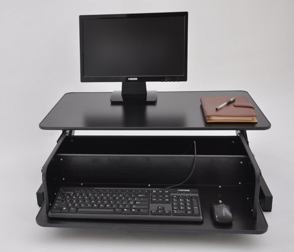 Touch Standing Desk Converter  (with Gas spring) RT  - 9