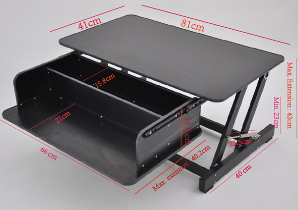 Touch Standing Desk Converter  (with Gas spring) RT  - 21
