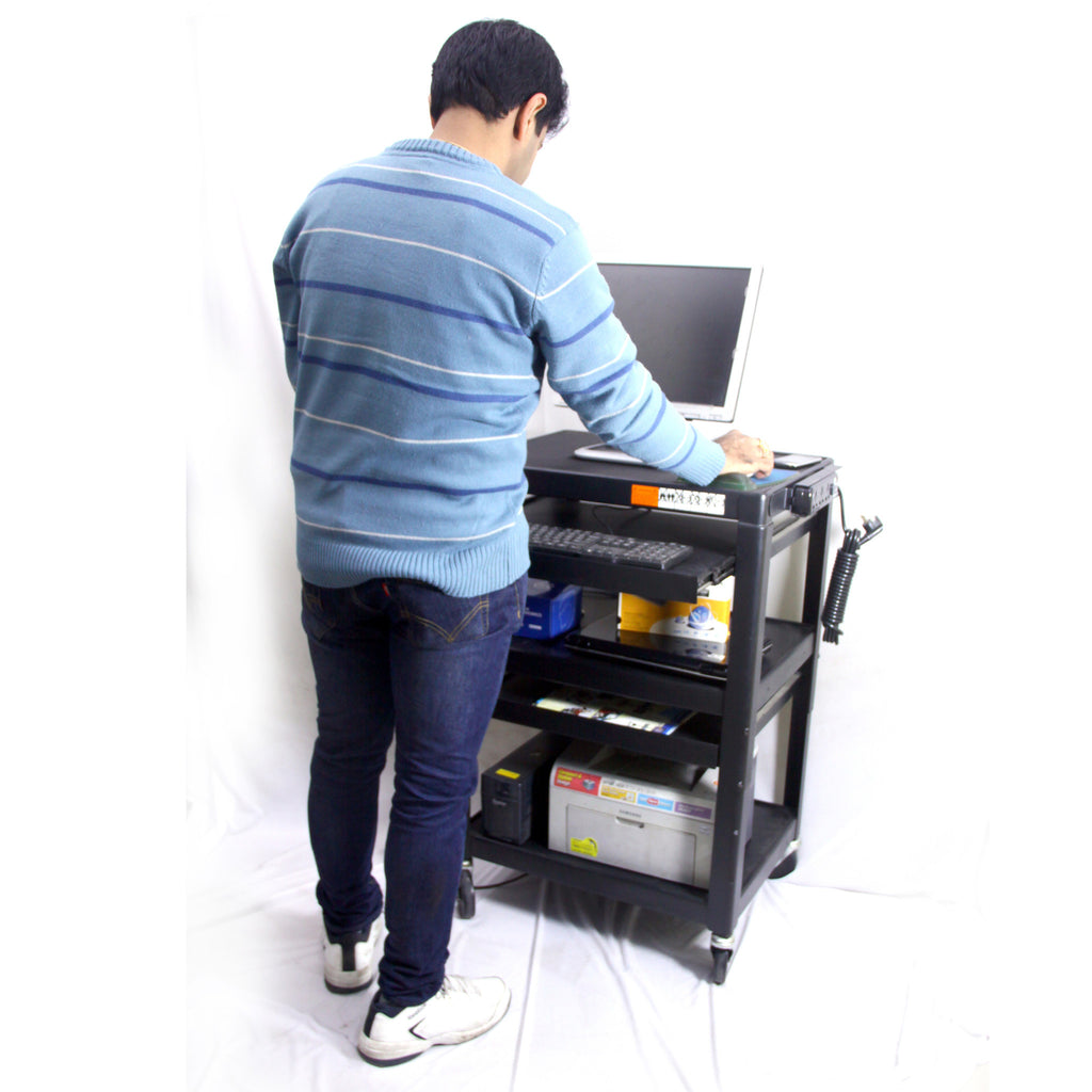 Computer Mobile Cart (MCT04)  - 1