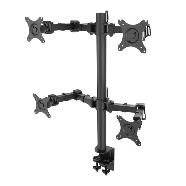Quad arm desk mount stand (model RC4)  - 2