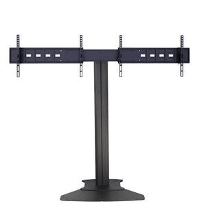Dual TV Floor Stand Flat Base (Without Wheels) (RKF-D)  - 2