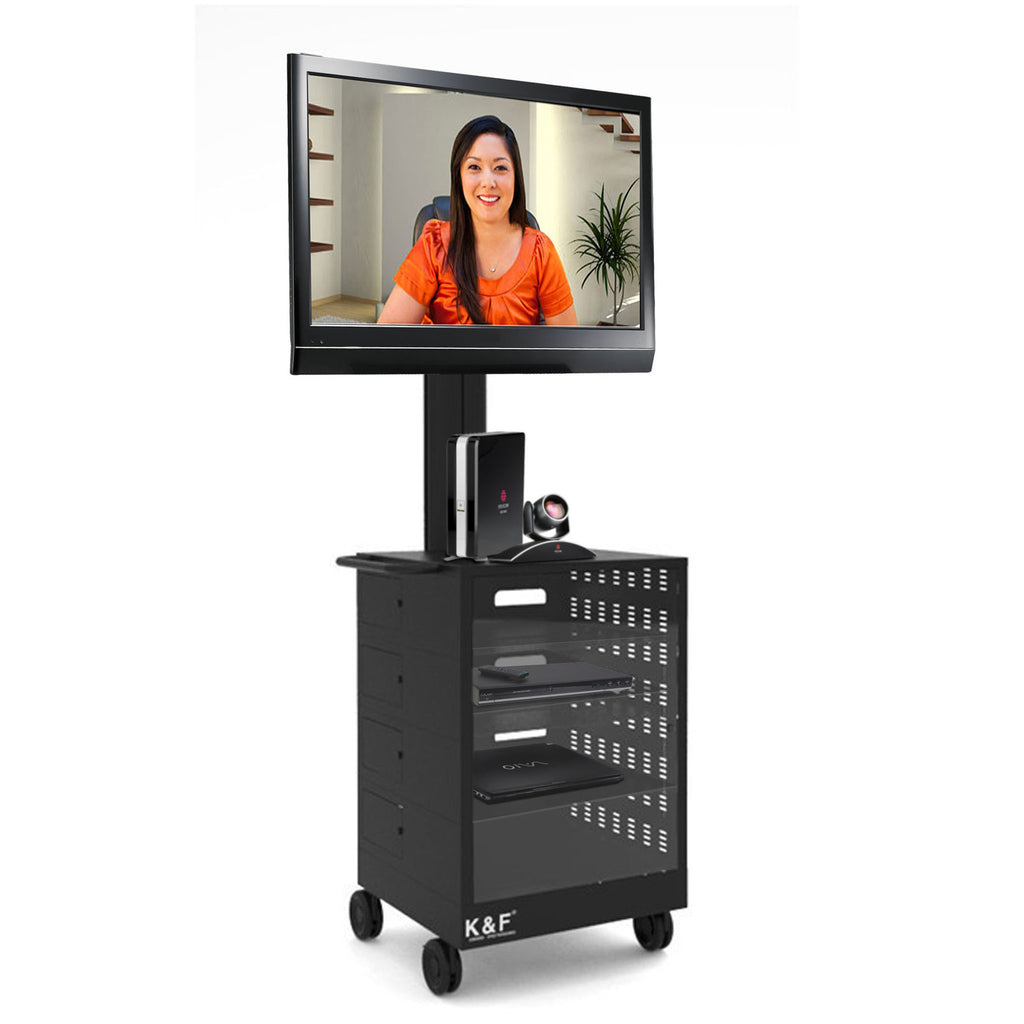 LCD Tv Cart with Lockable Cabinet (TMC01) – Rife Technologies