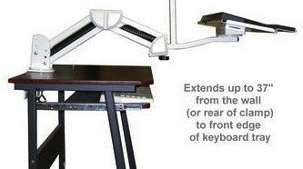 Keyboard / Monitor table/Wall mount LMS-C  - 10