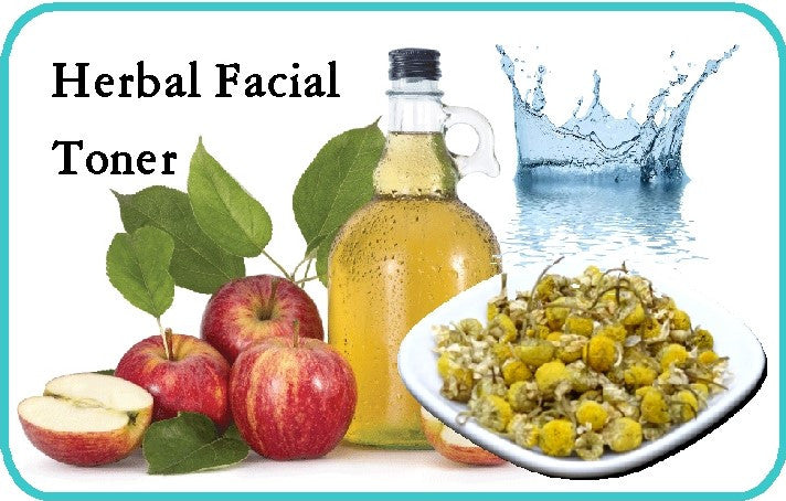 HERBAL BEAUTY RECIPES - Herbal Facial Toner