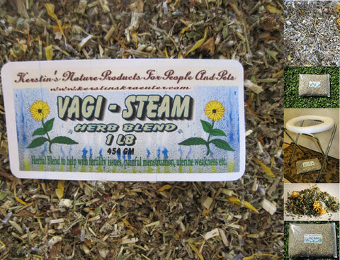 Vaginal Steam Herb Blend - Kerstin's Nature Products