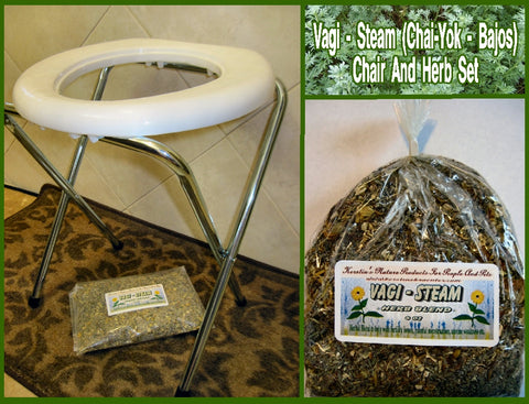 Portable Vaginal Steam Chair (Chai-Yok, Yoni) - Kerstin's Nature Products