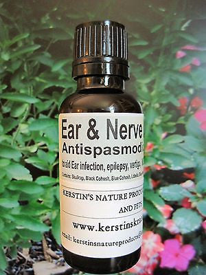 Ear and Nerve Formula  ~Multiple Sizes - Kerstin's Nature Products