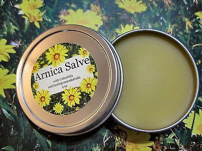 Arnica Salve with Calendula and Healing Essential Oils - Kerstin's Nature Products