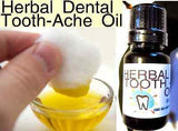 Herbal Dental Tooth Ache Oil - Kerstin's Nature Products