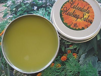Calendula Healing Salve  2 oz - Kerstin's Nature Products