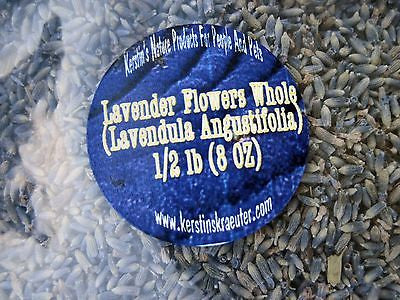 Lavender Flowers, Dried Herb, Whole  ~Multiple Sizes - Kerstin's Nature Products